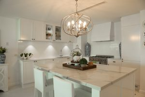 White Kitchen Benchtops