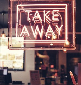 Take Out, Take Away, Fast Food