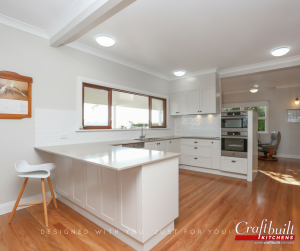 Camphill Kitchen Renovation Laminate Benchtop