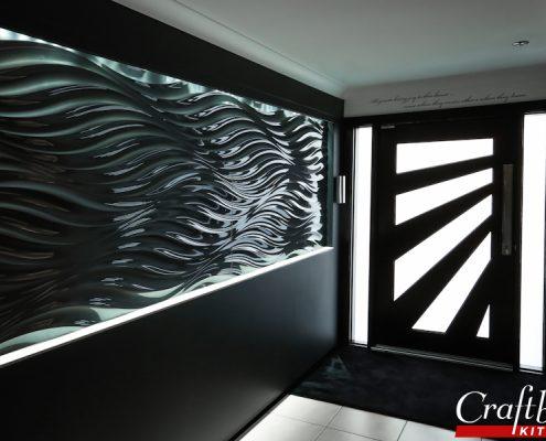 Stylish Black Bathroom Coomera, Brisbane QLD Bathroom Renovation