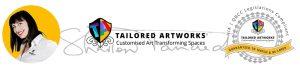 Craftbuilt Art Tailored Splashback