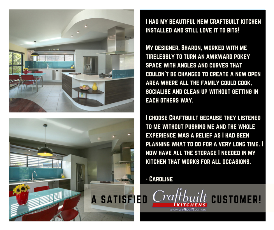 Customer Review Craftbuilt Kitchens