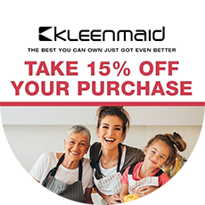April Autumn Appliance Sale With Kleenmaid