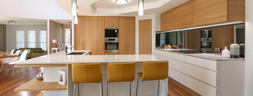 Timber Look Modern Kitchen