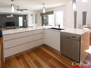 Energy Efficient Natural Lighting in Modern Kitchen