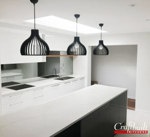 White Splashback Design