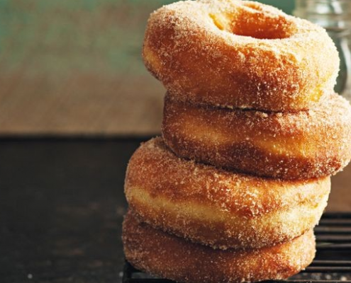 Easy Simple Doughnut Recipe