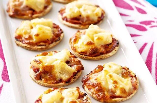 Mini Pineapple Pizza Recipe