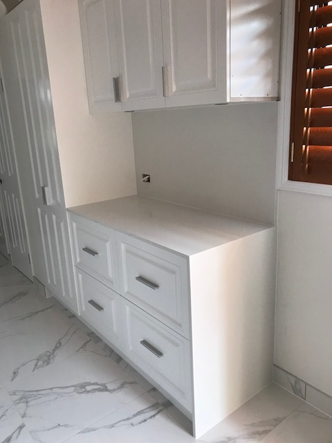 White Kitchen Renovation Brisbane