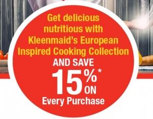 Kleenmaid Kitchen Appliance Promo July 2020