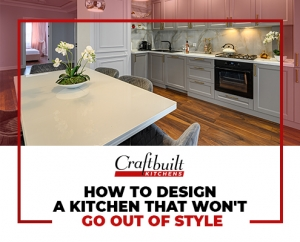 How to Design a Kitchen Benchtops